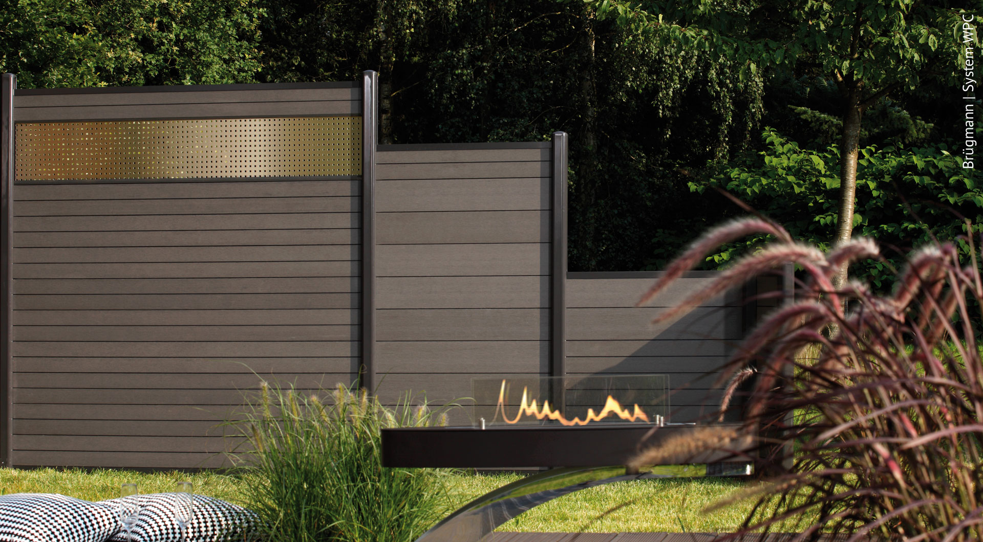 Wpc Zaune Der Sichtschutz Ohne Pflegeaufwand Holz Roeren Gmbh