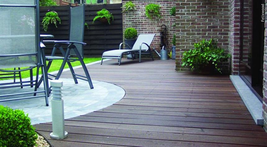 Heimisches Hartholzbretter für die Hartholz Terrasse finden Sie bei Holz Roeren