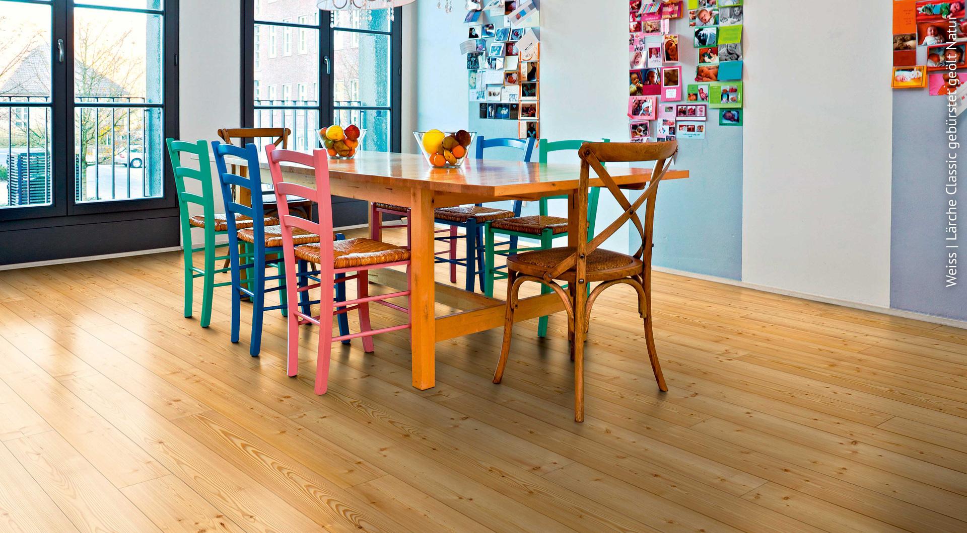 Landhausdielen von Holz Roeren bringen einen gewissen Charme in die Räume