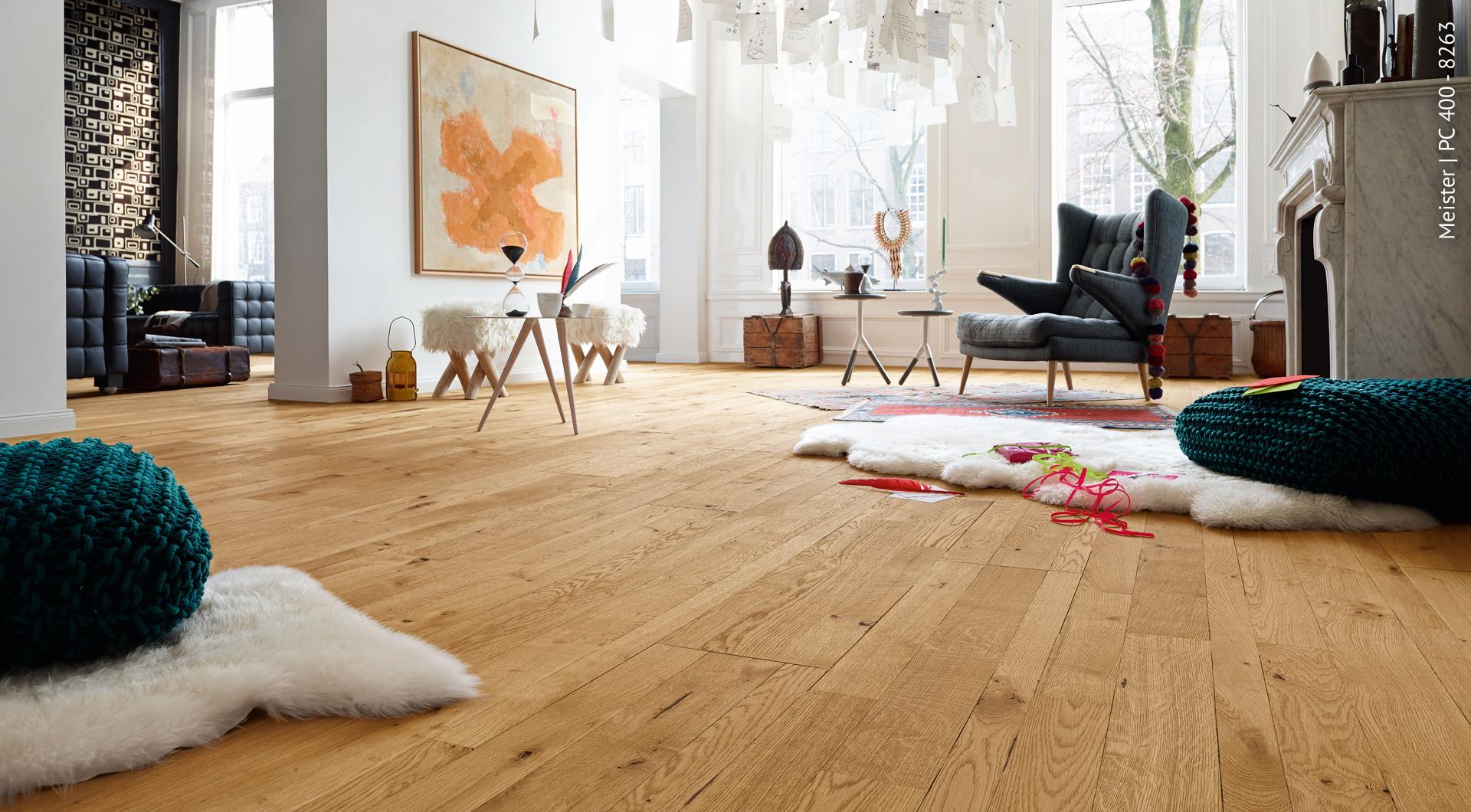 Designboden aus Echtholz findet man bei Holz Roeren
