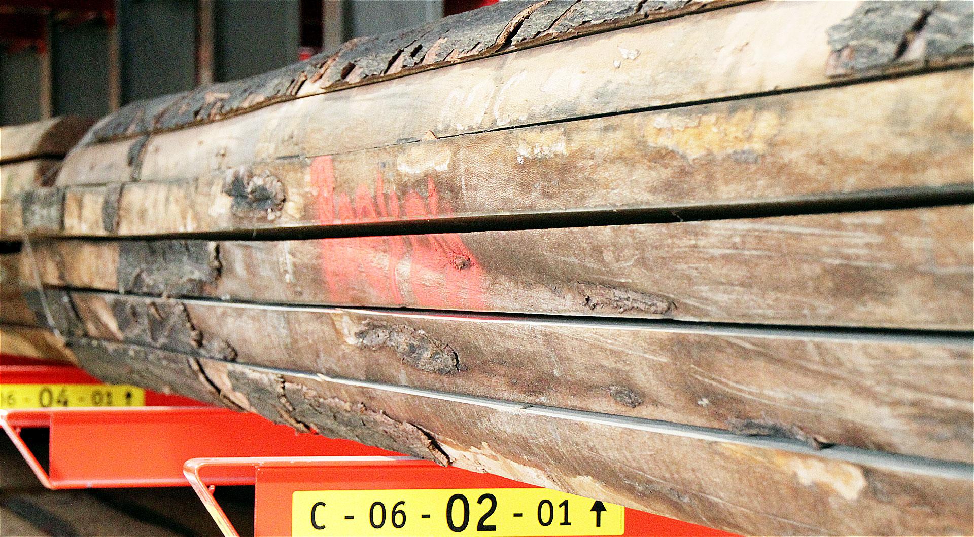 Hochwertiges Schnittholz frisch aus dem Sägewerk bei Holz Roeren