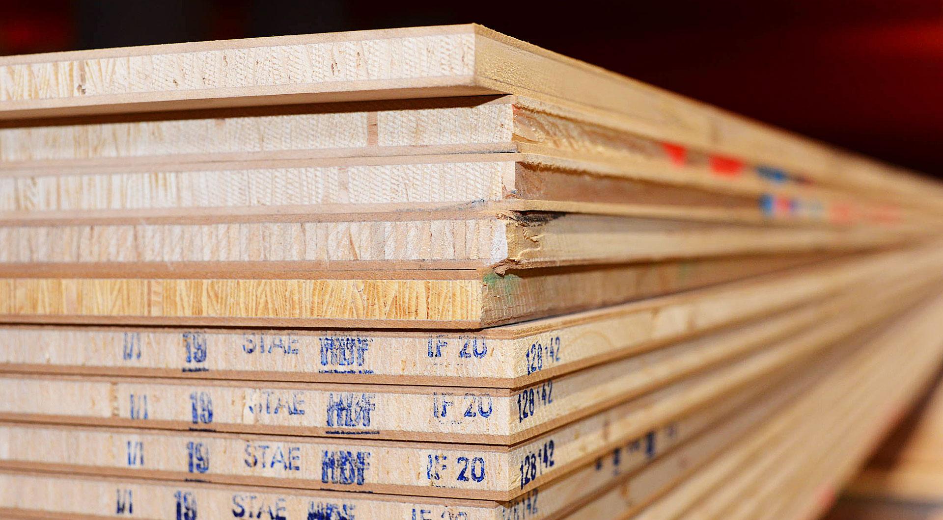 Die Vorteile Der Tischlerplatte Holz Roeren Gmbh