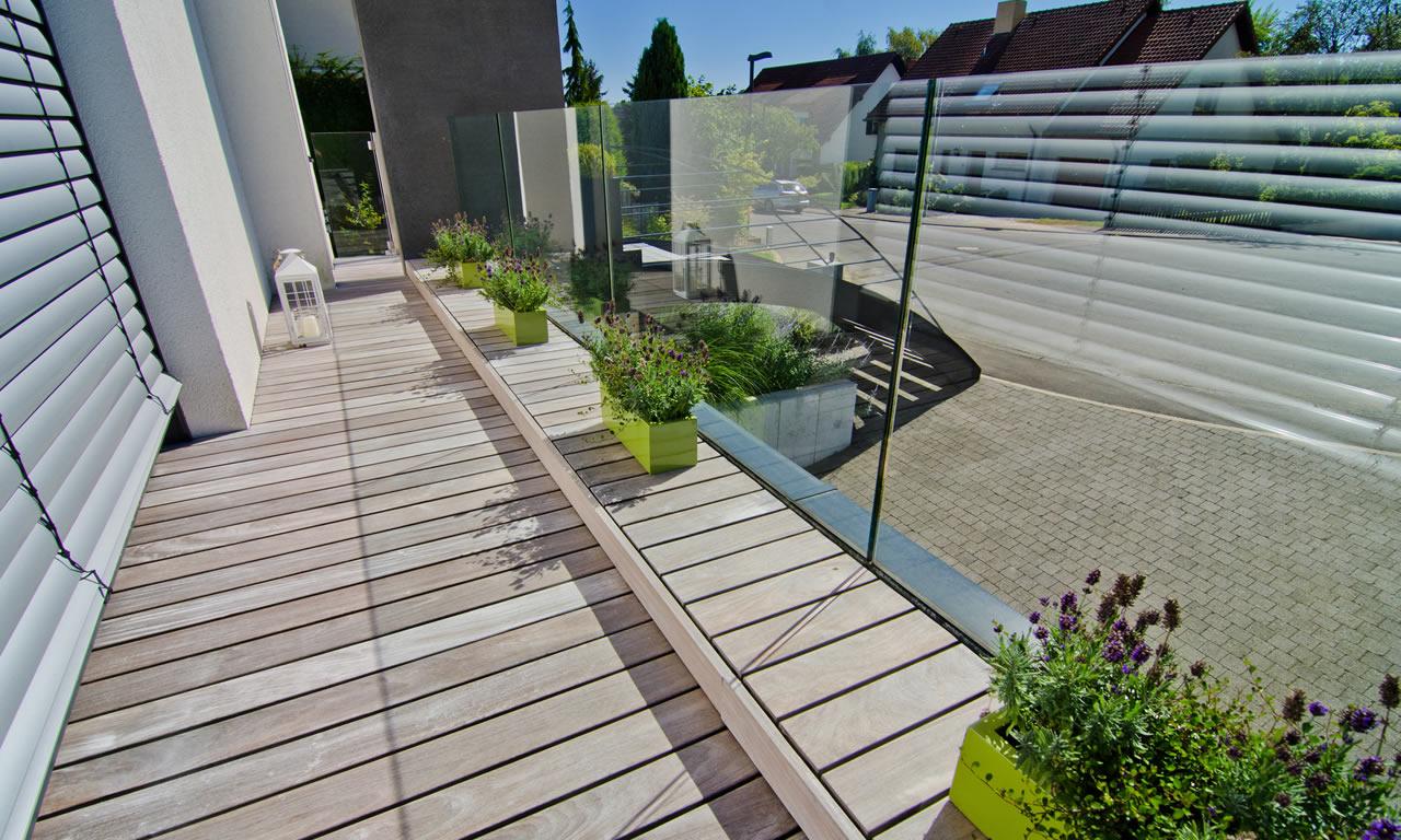 Terrassenböden findet man bei Holz Roeren in Krefeld