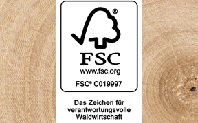 FSC (Forest Stewardship Council) - Holz Roeren